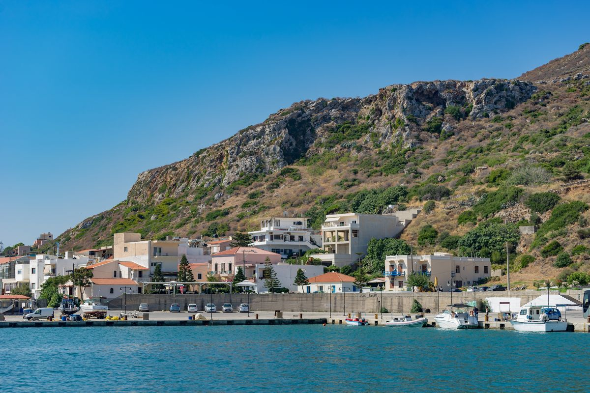Kolymbari Town Harbour chania alonia apartments interesting places